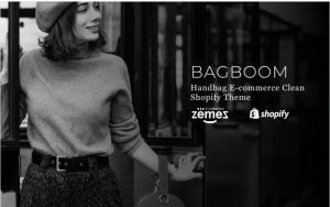 Download BAGBOOM Handbag E-commerce Clean Shopify Theme