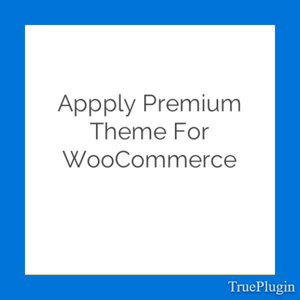 Download Appply Premium Theme for WooCommerce