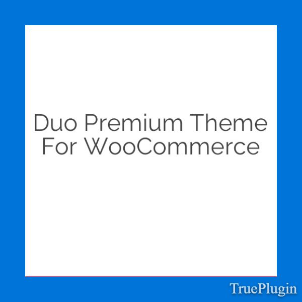 Download Duo Premium Theme for WooCommerce
