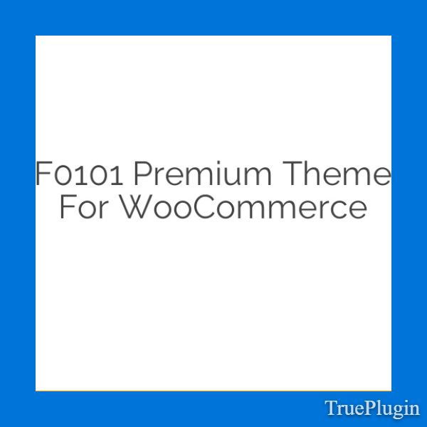 Download F0101 Premium Theme for WooCommerce