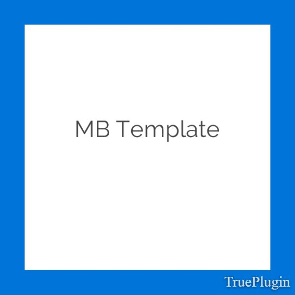 Download MB Template