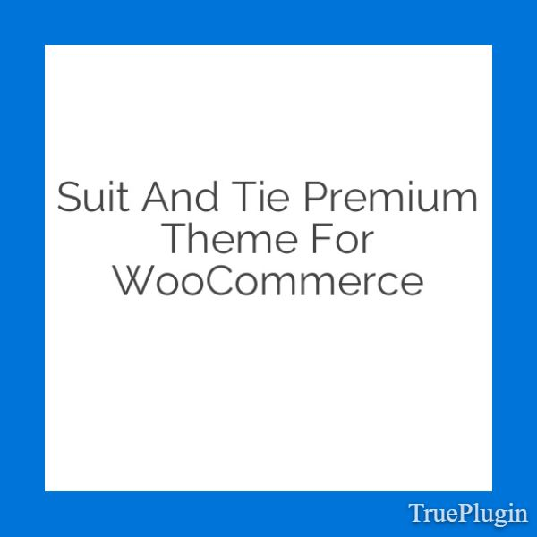 Download Suit and Tie Premium Theme for WooCommerce