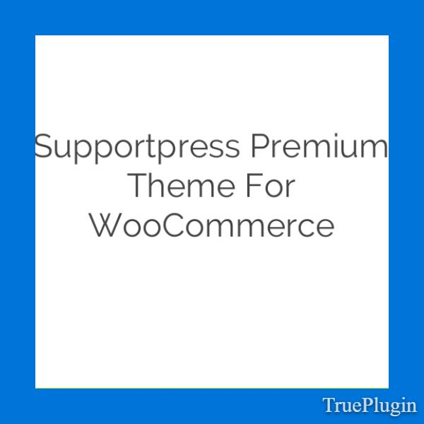 Download Supportpress Premium Theme for WooCommerce