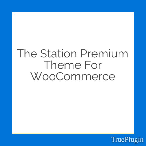 Download The Station Premium Theme for WooCommerce