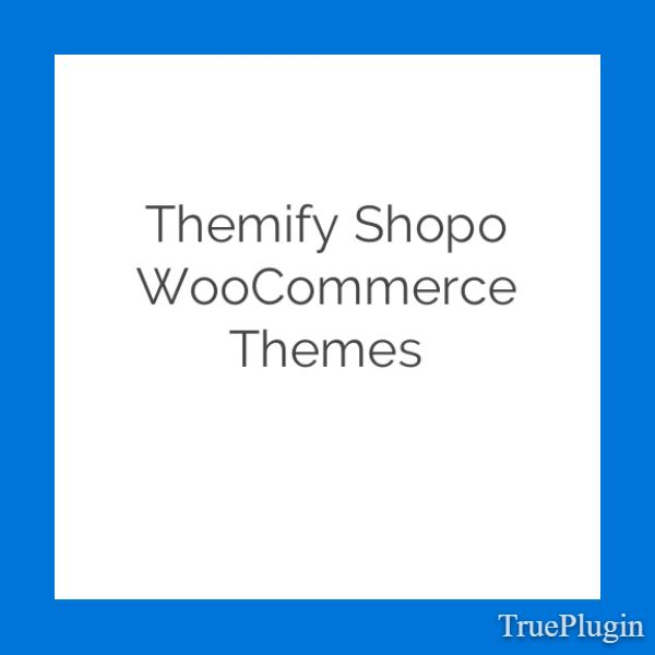 Download Themify Shopo WooCommerce Themes