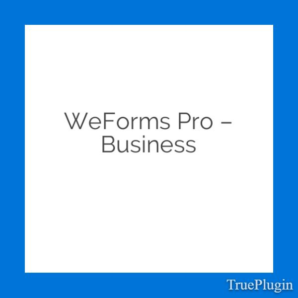 Download weForms Pro – Business