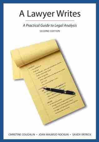 A Lawyer Writes