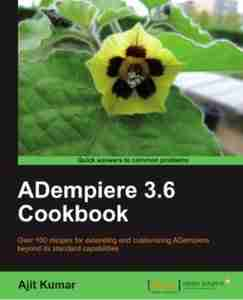 ADempiere 3.6 Cookbook
