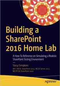 Building a SharePoint 2016 Home Lab