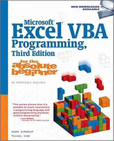 Microsoft Excel VBA Programming for the Absolute Beginner, 3rd Edition