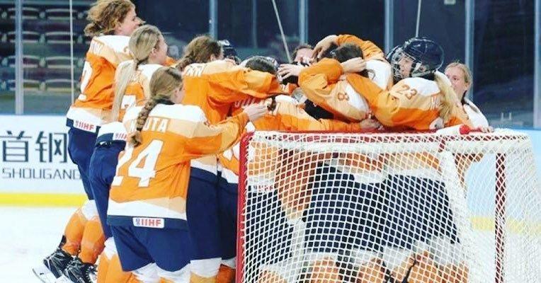 🦁 @nocnsf ondersteunt de ijshockeyleeuwinnen. Het…