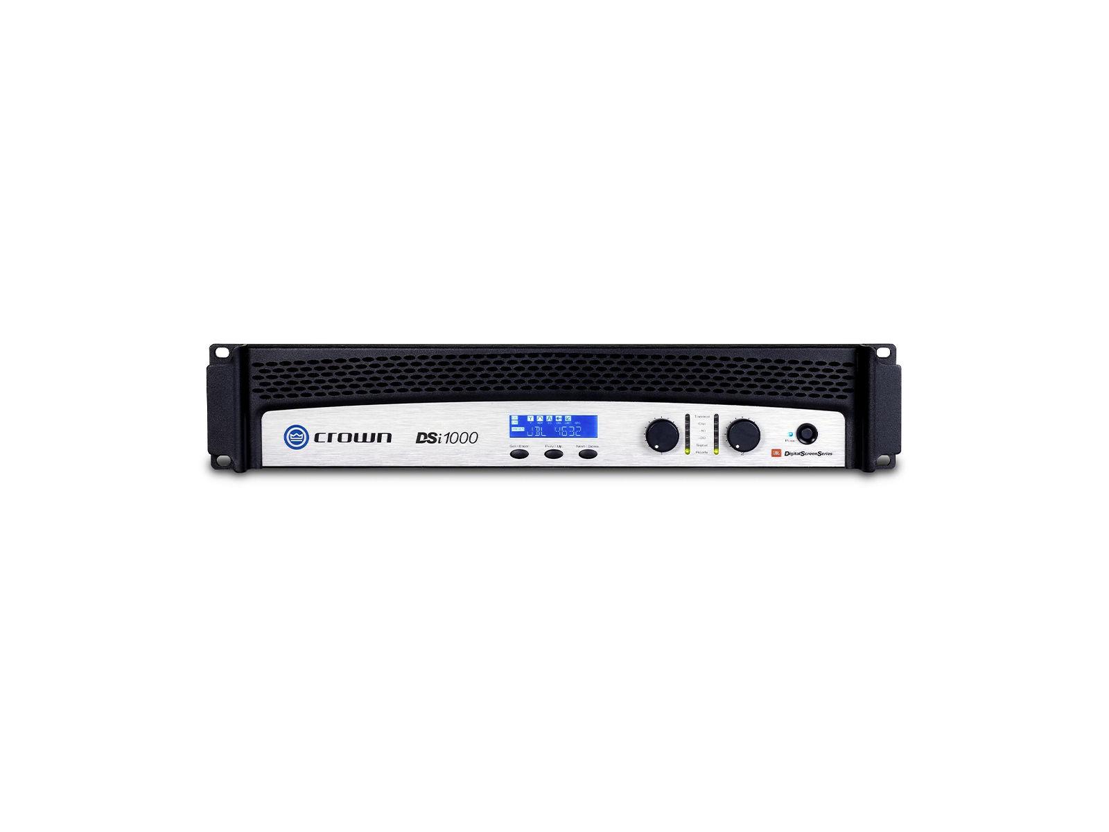 Crown DSi 1000 | Endstufe, 2x 475W/4Ω, DSP, LCD, HiQnet, Phoenix, D-Sub, Cinema (THX approved)