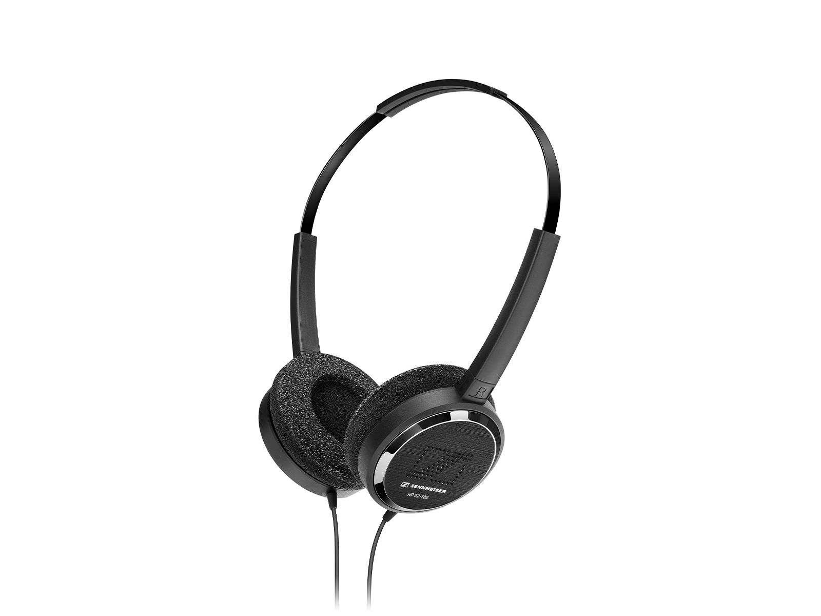 Sennheiser HP 02-140 | Kopfhörer, stereo, 32 Ω, Kabel 1,4 m, stereo,, 3,5 mm Klinkenstecker, gewinkelt, VE 20 Stk