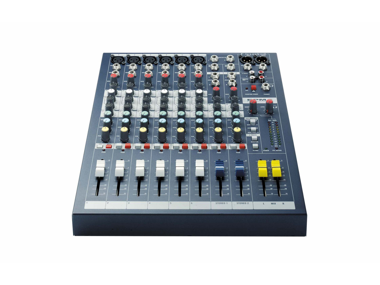 Soundcraft EPM6 | EPM6, 6+2/2 Kompaktmischer, 19'' Option,