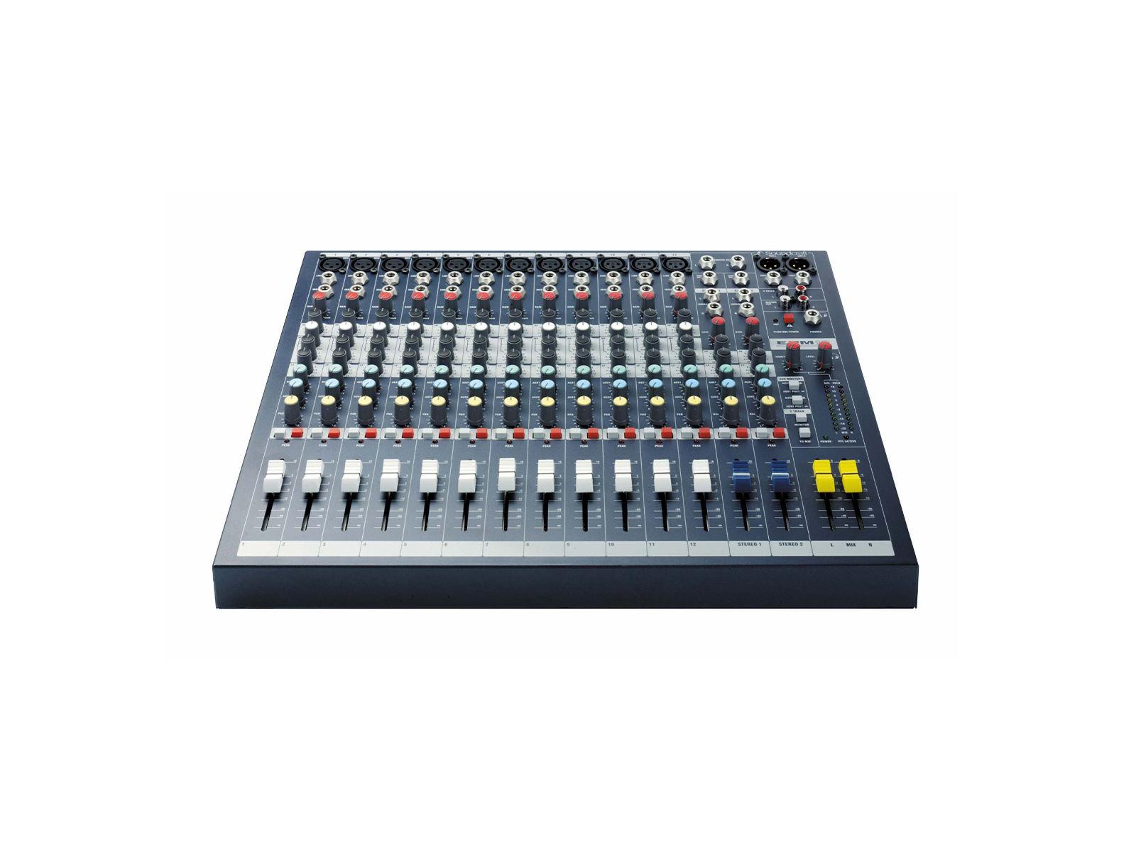 Soundcraft EPM12 | EPM12, 12+2/2 Kompaktmischer, 19'',