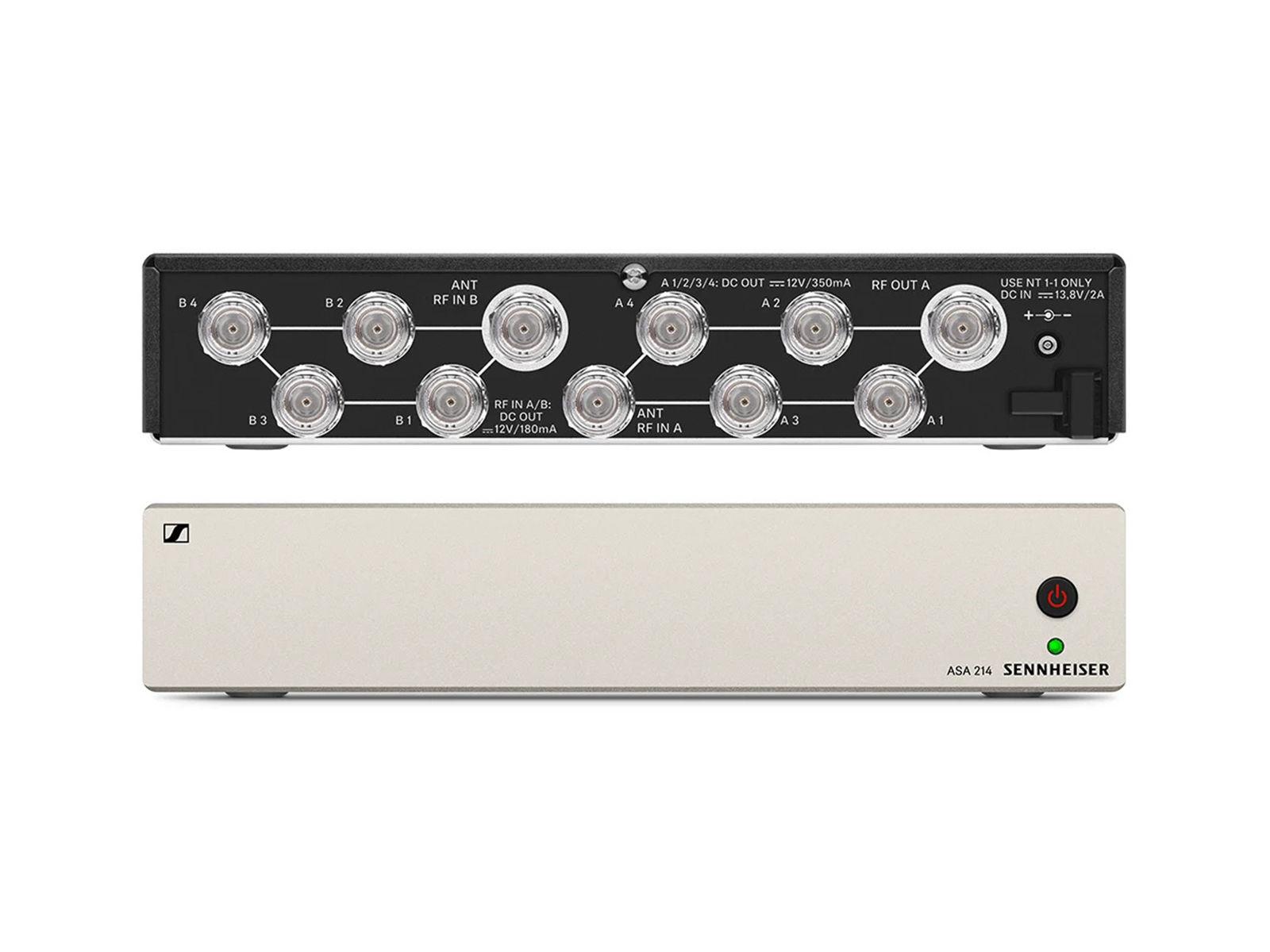 Sennheiser ASA 214-UHF | Aktiver Antennen-Splitter ew G3 / ew G4,