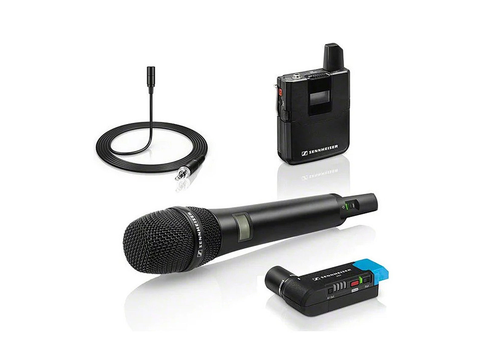 Sennheiser AVX-COMBO SET-3-EU | Drahtloses Mikrofon-System für Film-Ton,