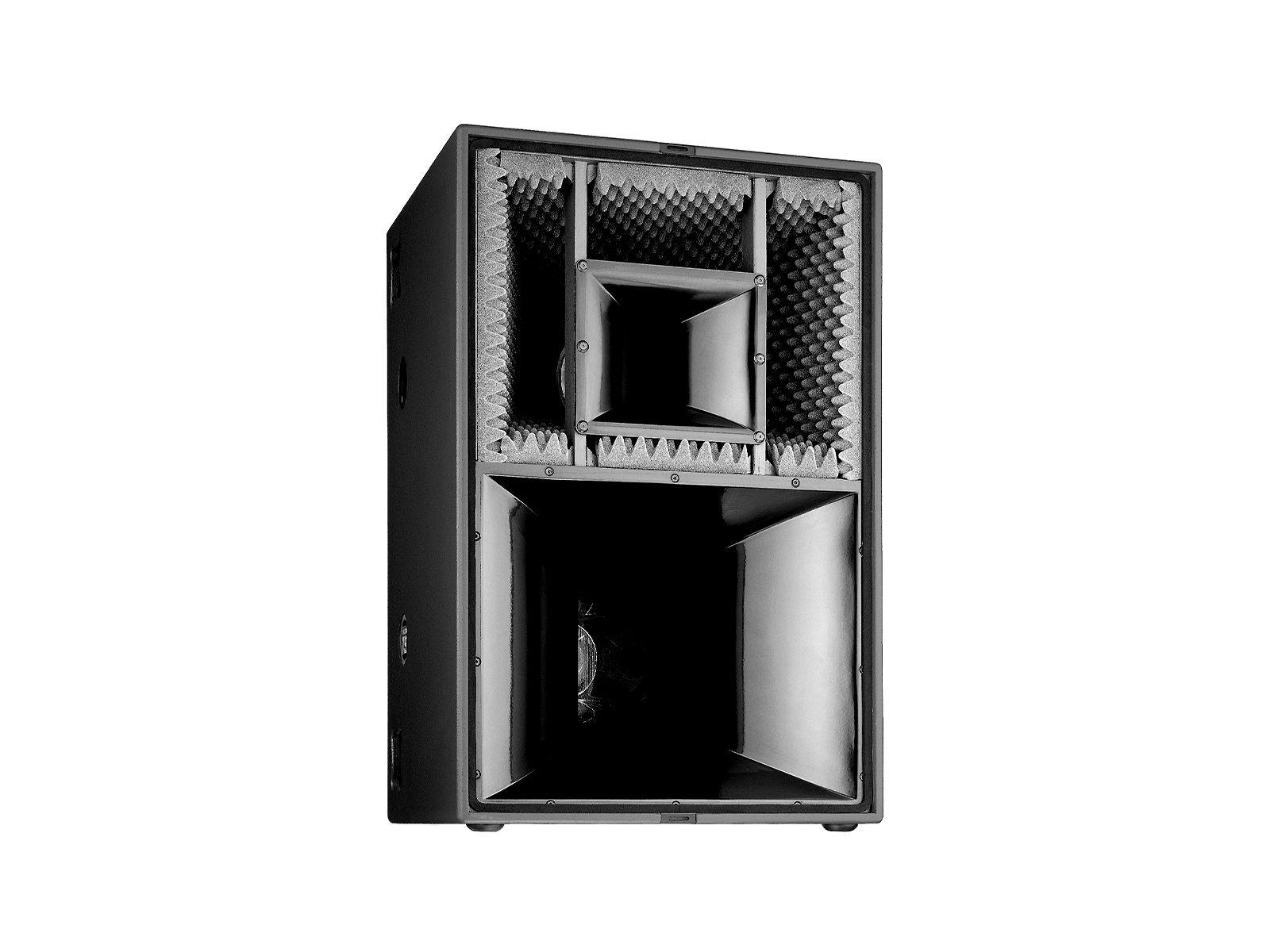 "Kling & Freitag ACCESS T9 Outdoor Mobile BK | ACCESS T9 Top, 12""/5""/1.5"", 90°x40° (HxV), Outdoor Mobile, 2xSpeakOn NLT4MP, schwarz"