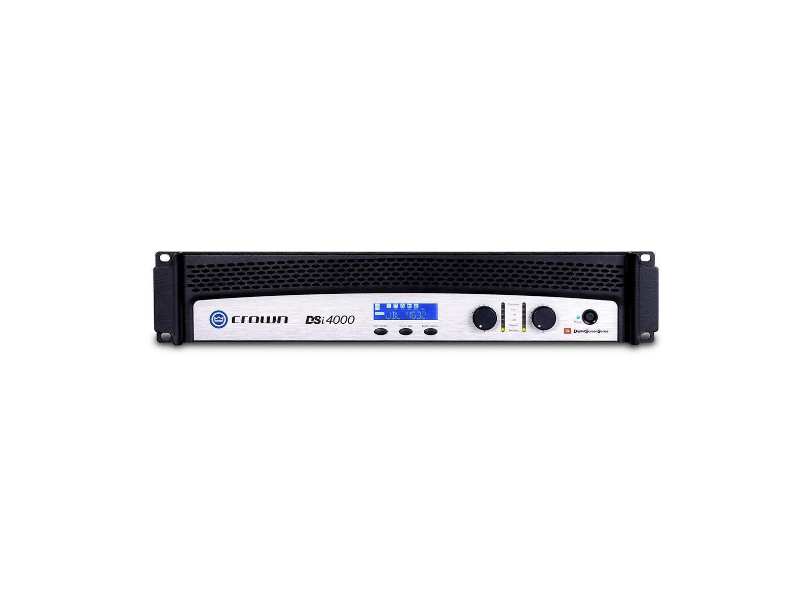 Crown DSi 4000 | Endstufe, 2x 1200W/4Ω, DSP, LCD, HiQnet, Phoenix, D-Sub, Cinema (THX approved)