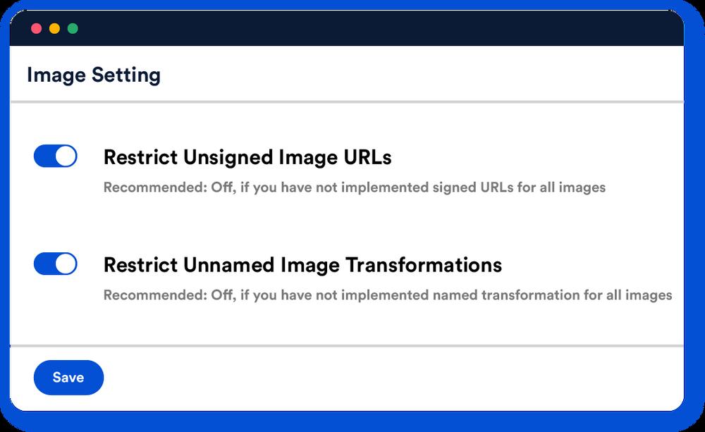 Imagekit Signed URLs