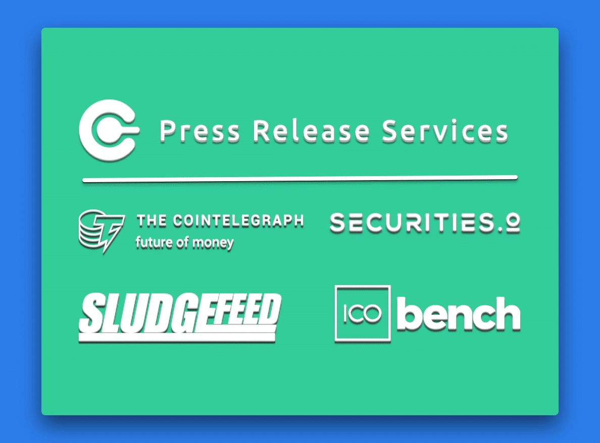 Cryptocurrency Press Release Packages 2019