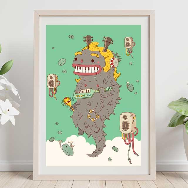 Piano animal
