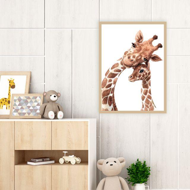 Giraffes in love