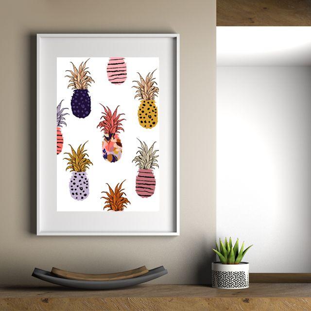 Ananás tropicales