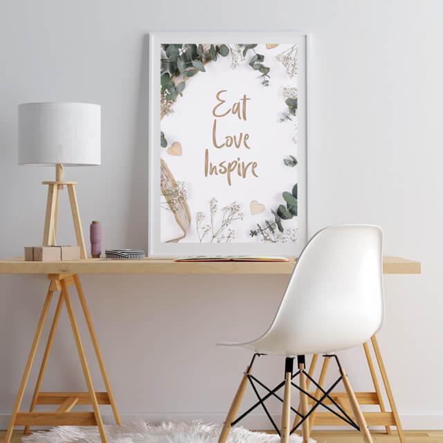 Comer amar inspirar
