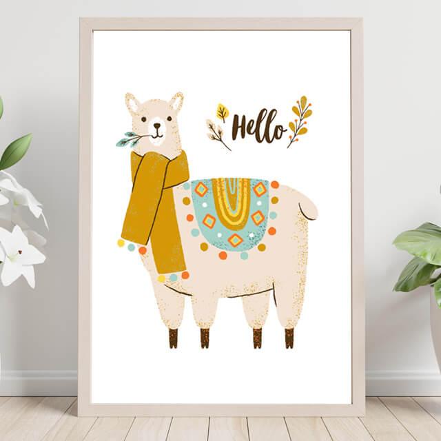Hello Llama Animal