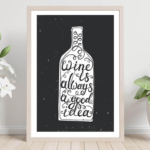Wine is always a good idea