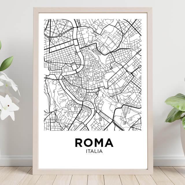 Mapa & Coliseo Romano
