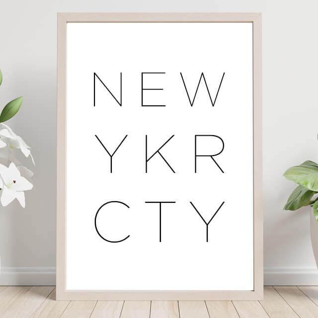 New York City Text