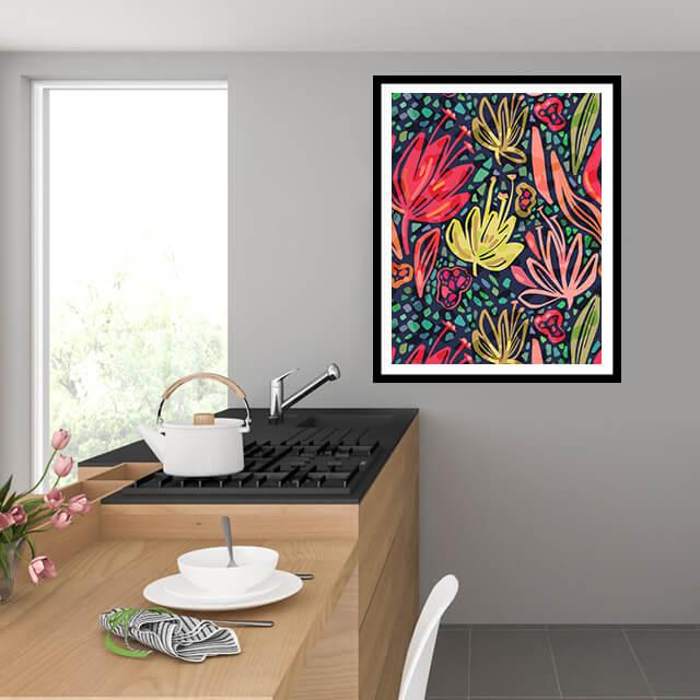 Cayenas en color
