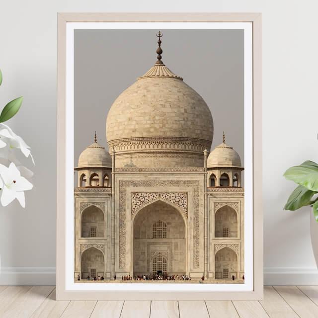 Tag Mahal en calma