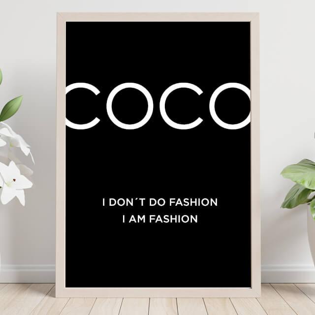 Coco Model & Flower
