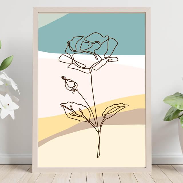 Flor sobre las dunas