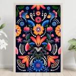 Flores y Aves en colores