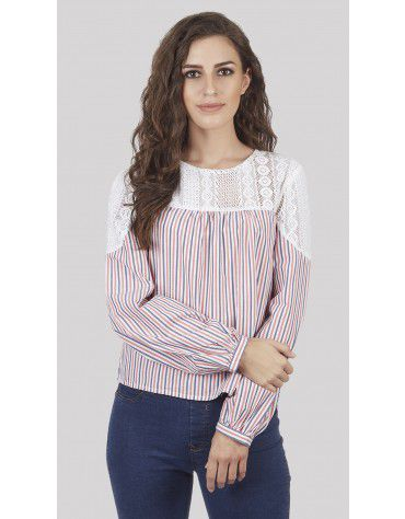 SbuyS - Multi Stripe Blouse