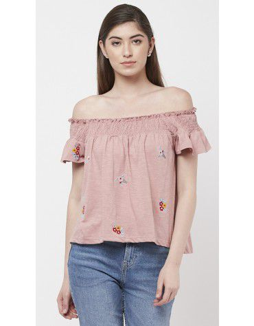 89b9b6fc0d4 Buy Women's Embroidered Tops Online in India | Sbuys.in