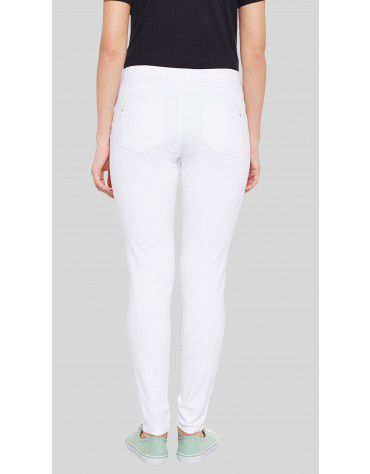 SbuyS  - Slim Fit White Jegging