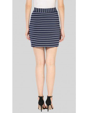 SbuyS - Front Lace Up Mini Skirt