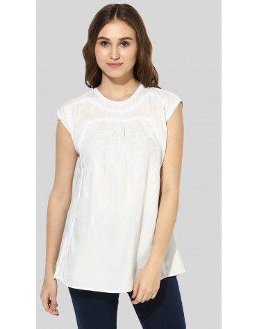 SbuyS  - Dolman Sleeve Embroidered Blouse