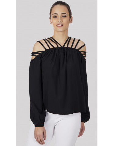 SbuyS  - Multi Strap Blouse