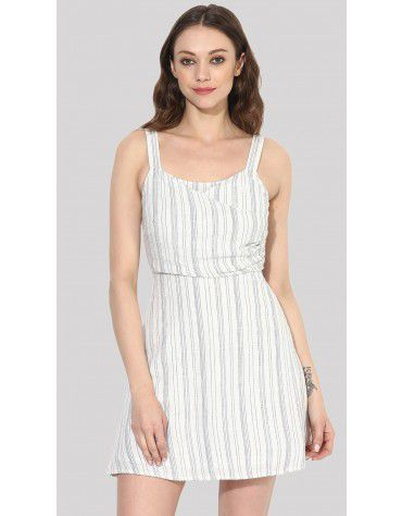 SbuyS - Wrap Fit & Flare Dress