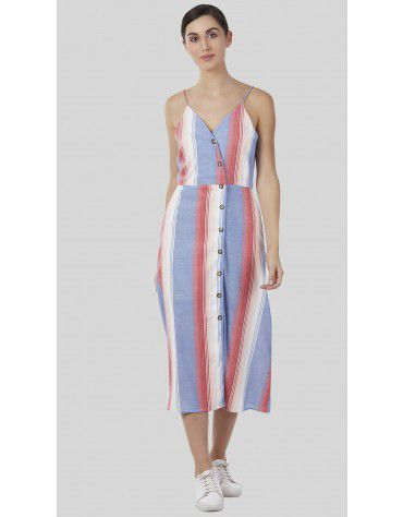SbuyS - Striper Maxi Dress