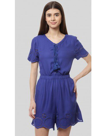 SbuyS - Lace Up Romper
