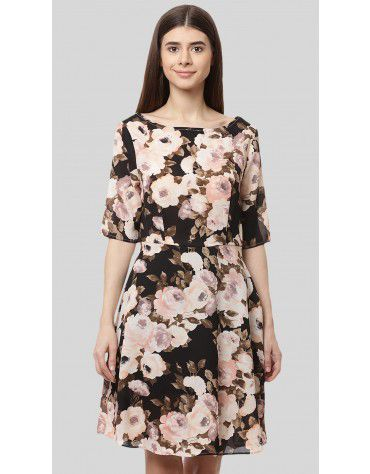 SbuyS - Floral Printed Dress