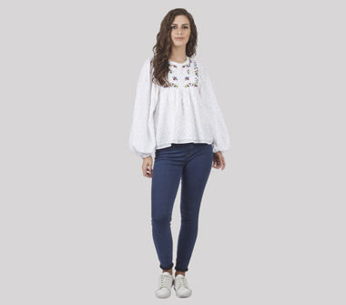 SbuyS Young Women's Embroidered Tops
