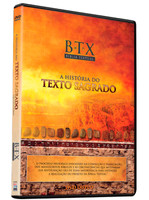 Bíblia Textual - A história do texto sagrado - DVD Duplo